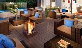 Kimber Modern Hotel Hospitality Fireplaces Fire Pit Idea