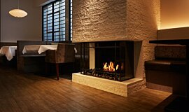 Casa Bianca Cafe Hospitality Fireplaces Fireplace Insert Idea