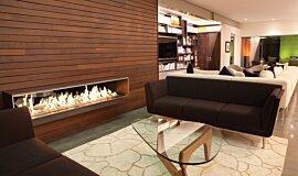 Private Residence Linear Fires Ethanol Burner Idea