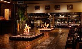Restaurant La Cave Hospitality Fireplaces Ethanol Burner Idea