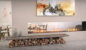 Flex 122DB Flex Fireplace - In-Situ Image by EcoSmart Fire