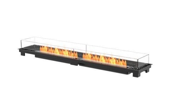 Linear 90 Fire Pit Kit - Ethanol - Black / Black by EcoSmart Fire