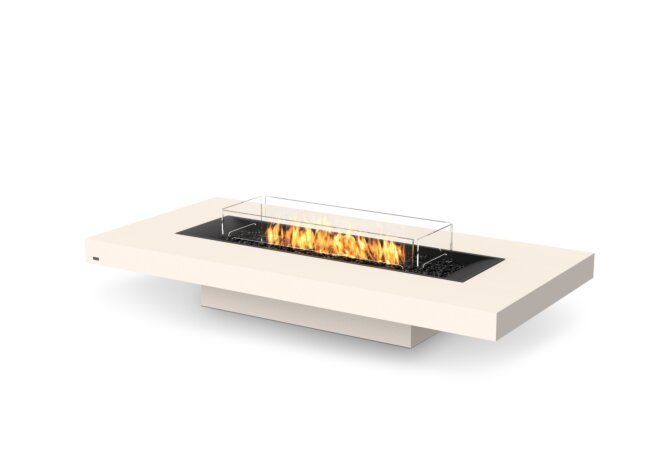 Gin 90 (Low) Fire Table - Gas LP/NG / Bone by EcoSmart Fire